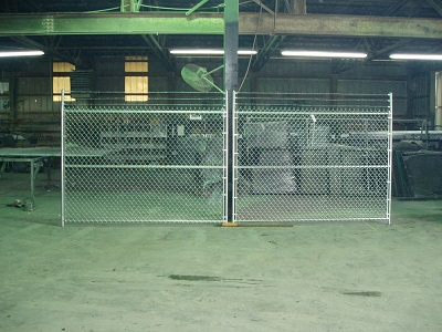 Chain Link Gate Precision Vinyl Systems Inc